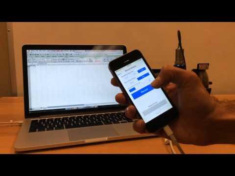 Vibration Data Collection Using iPhone - Record Accelerometer Data using Motionics VibraTestPro App