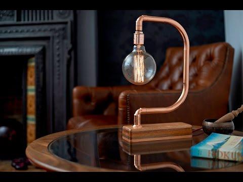 Handmade Copper Desk Lamp D Light