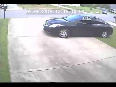 Neighbor driving through my yard