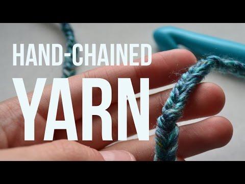 DIY Thicker Yarn