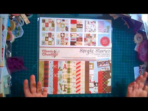 Simple Stories Classic Christmas Paper Pack Giveaway ~ CLOSED