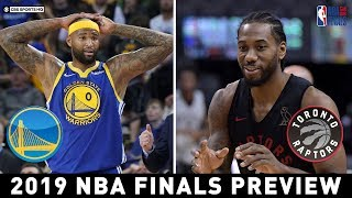 Demarcus Cousins is active for game 1   2019 NBA Finals Preview   CBS Sports HQ