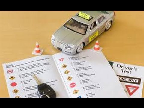 DRIVER LICENSE-HOW PASS THE  DMV WRITTEN PERMIT TEST IN FLORIDA