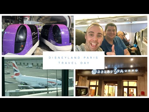 Disneyland Paris Vlog - March 2018 - Part 1 - Travel Day - flight and arriving at Relais Spa Hotel