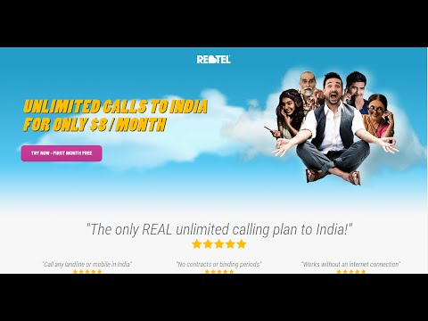 Phone Card: Unlimited cheap $10 /month phone call INDIA on any phone? CALL FIRST WEEK FREE