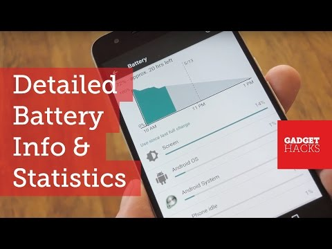 Find the Source of Battery Drain with Google's 'Battery Historian' Tool [How-To]