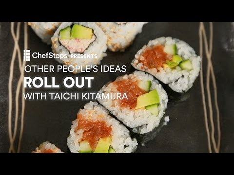 Simple, Party-Starting Sushi Rolls, With Taichi Kitamura