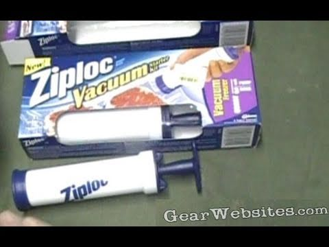 Ziploc Vacuum Pump  vs Food Saver Vacuum Seal Bags - Which Pump Seals Foods With a Vacuum better?