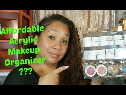 Acrylic Makeup Storage Box - Affordable Cosmetic Organizer