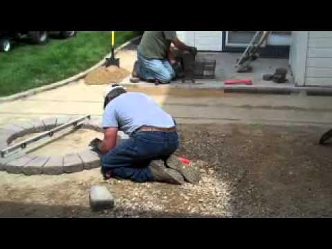 Paver Patio & Firepit Installation