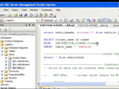 get the list of all columns from the table in sql server 2005 2008 2012