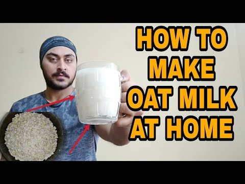 How to make OAT MILK at home easily | INDIAN HOODLUMS