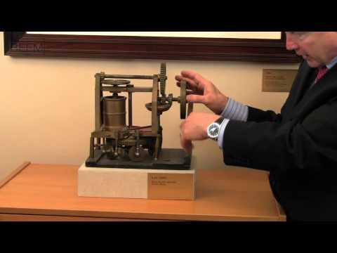 A Brick Making Machine Patent Model - Chicago Patent Attorney Rich Beem Demonstrates