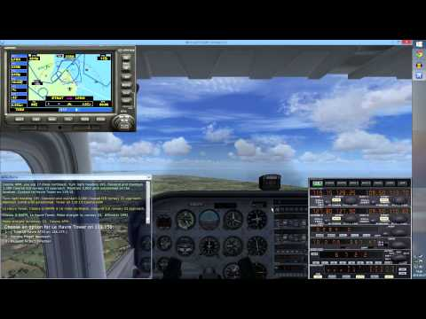 FSX: Let's Learn to Fly Together ★ Part 9: Flying an ILS Approach #2