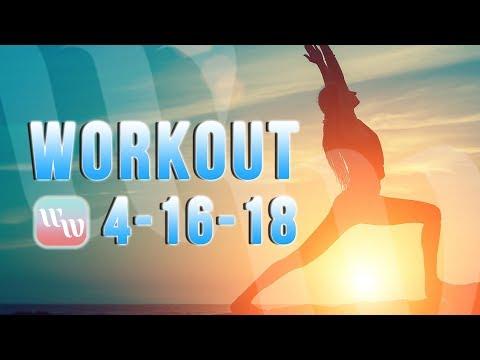 Workout 4-16-18