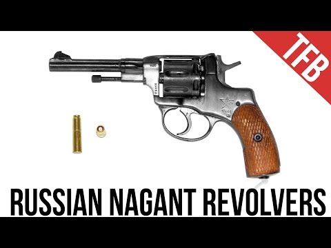 Bloke on the Russian Nagant M1895 Gas Seal Revolver