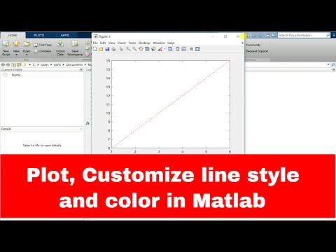 How to plot in Matlab | Customize color lines in Matlab | Customize color styles in Matlab |