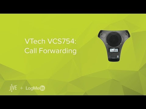 VTech VCS754: Call Forwarding