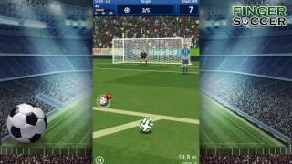 [mobile game] Finger Soccer : Freekick