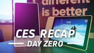 CES 2018 Day Zero: The Story So Far