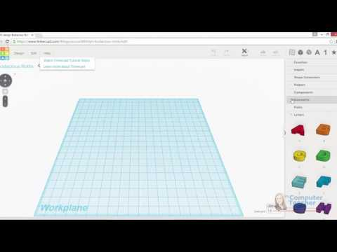 03 (of 13) - Explore the Tinkercad Interface