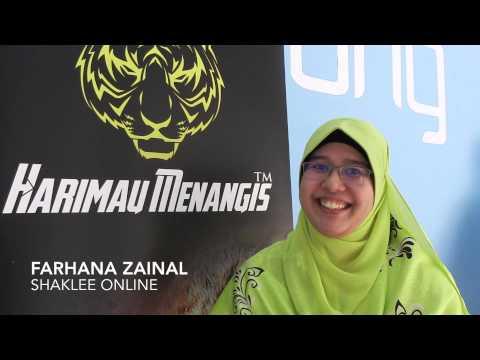 HM EZi Akaun Testimoni Farhana Zainal