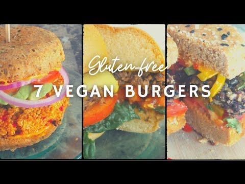 7 Vegan Burgers & Sandwiches | Gluten-free | Korenn Rachelle | How To Make A Vegan Cuban Sandwich