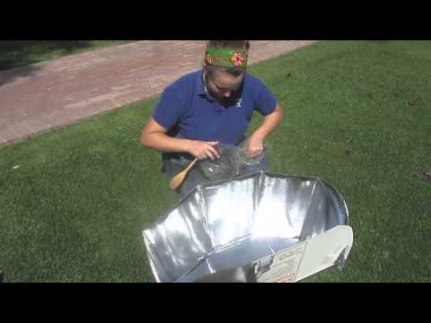 Solar Oven Assembly Instructions
