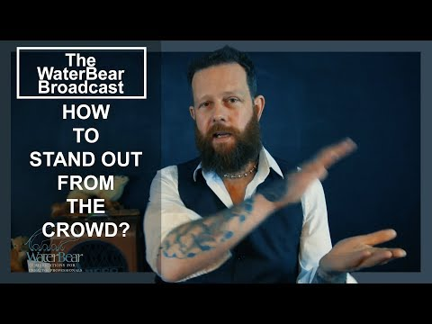 HOW TO STAND OUT FROM THE CROWD? │WATERBEAR BROADCAST #03
