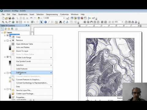 Compute and display contours from DEM in ArcMap