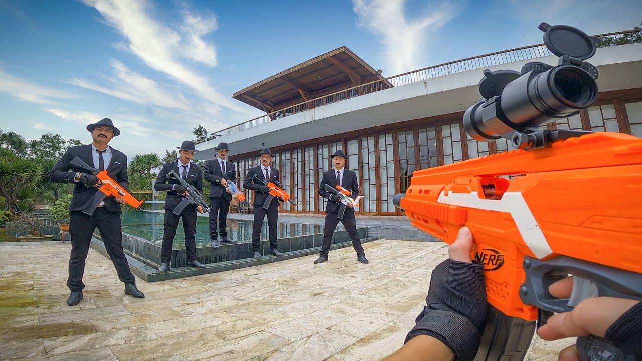 Nerf War: Gangster Battle (First Person Shooter 13)