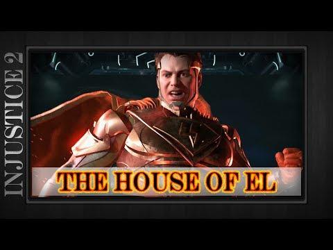 Injustice 2 - The House of El - Superman Epic Gear Set w/ Blue Heat Vision