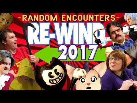 Random Encounters' REWIND 2017 (A Backward Musical Montage)