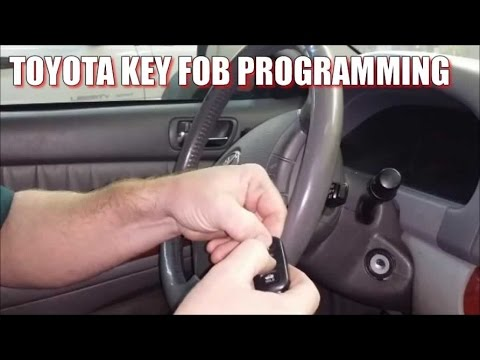 How to program 2000-2006 Toyota Camry remote key fob