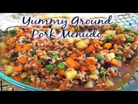 Yummy Ground Pork Menudo