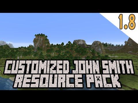 Minecraft Custom John Smith Resource Pack Update! (Minecraft 1.8)