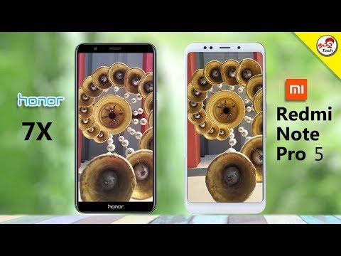 Honor 7X vs Redmi Note 5 Pro Camera Comparison | Tamil Tech