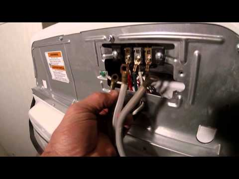 Changing a 4 prong Dryer for a 3 prong Outlet easy!