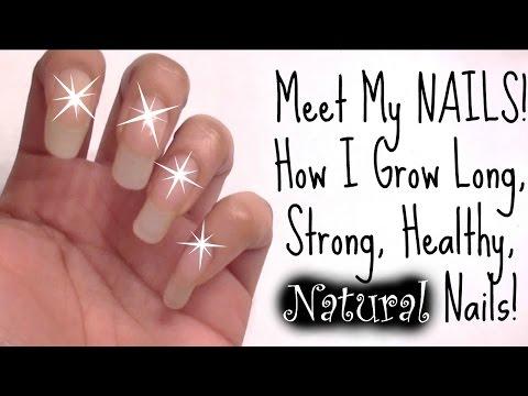 DIY:10 Tips-Grow LONG NAILS at Home!