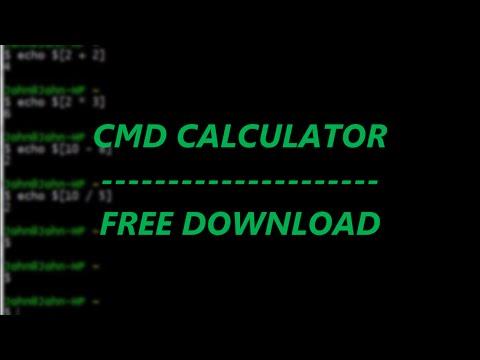 CMD Calculator BATCH + Free Download | TechNerd