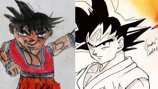 A EvoluÇÃo Dos Meus Desenhos - 1995/2016 - (my Drawing Evolution)