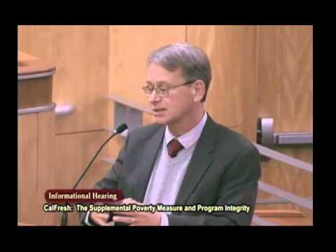 California Food Stamp Fraud Senate Hearing 2014