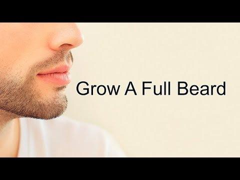 Grow A Full Beard Naturally (Subliminal)