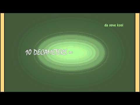 10 MILLIMETERS equals 1 CENTIMETER-Length Measures