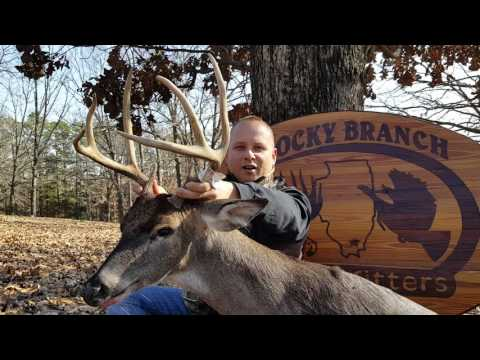 2016 Rocky Branch Outfitters- Chad's Tall Tine 8 Pointer