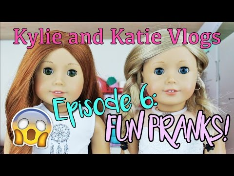 Kylie and Katie Vlogs Episode 6: Fun Pranks