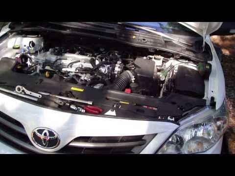 How to change headlight bulbs Toyota Corolla. Years 2008-2016
