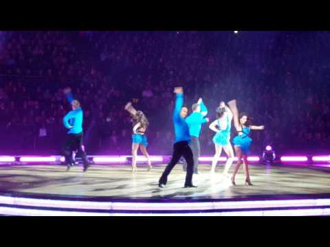 Strictly come dancing at The O2 11/02/17 Daisy & Aljaz salsa