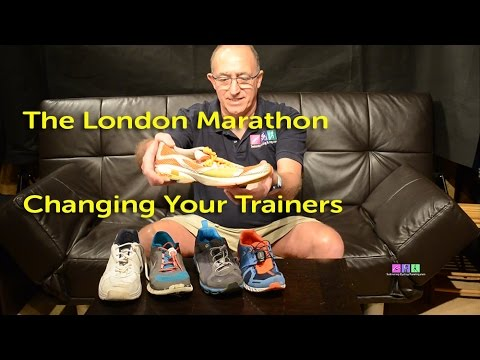 Changing Your Running Shoes Before the London Marathon