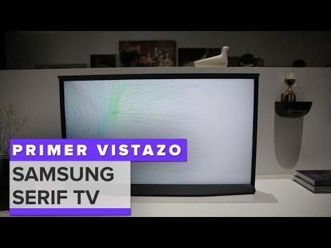 Samsung Serif TV: Un TV 4K con estilo de mueble